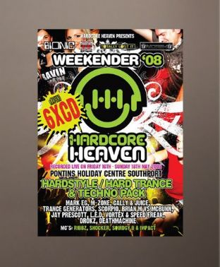 Hardcore Heaven - Weekender 2008 - Hardstyle / Hard Trance / Techno Pack